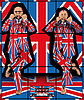GILBERT & GEORGE, UNION DANCE, 2008. © Gilbert & George